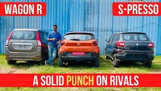 Download Tata Punch Vs Maruti S-Presso Vs Wagon-R - Detailed Comparison