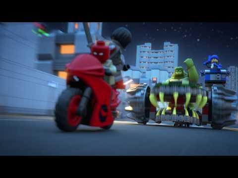 LEGO® DC Comics Super Heroes - Killer Croc: Zničení ve stokách