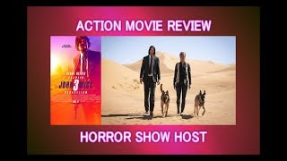 John Wick Chapter 3: Parabellum: Action Movie Review - Horror Show Host