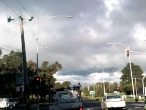 UFO Over Ferntree gully Australia 2010