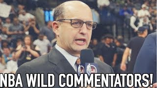 NBA Wild Commentator Moments