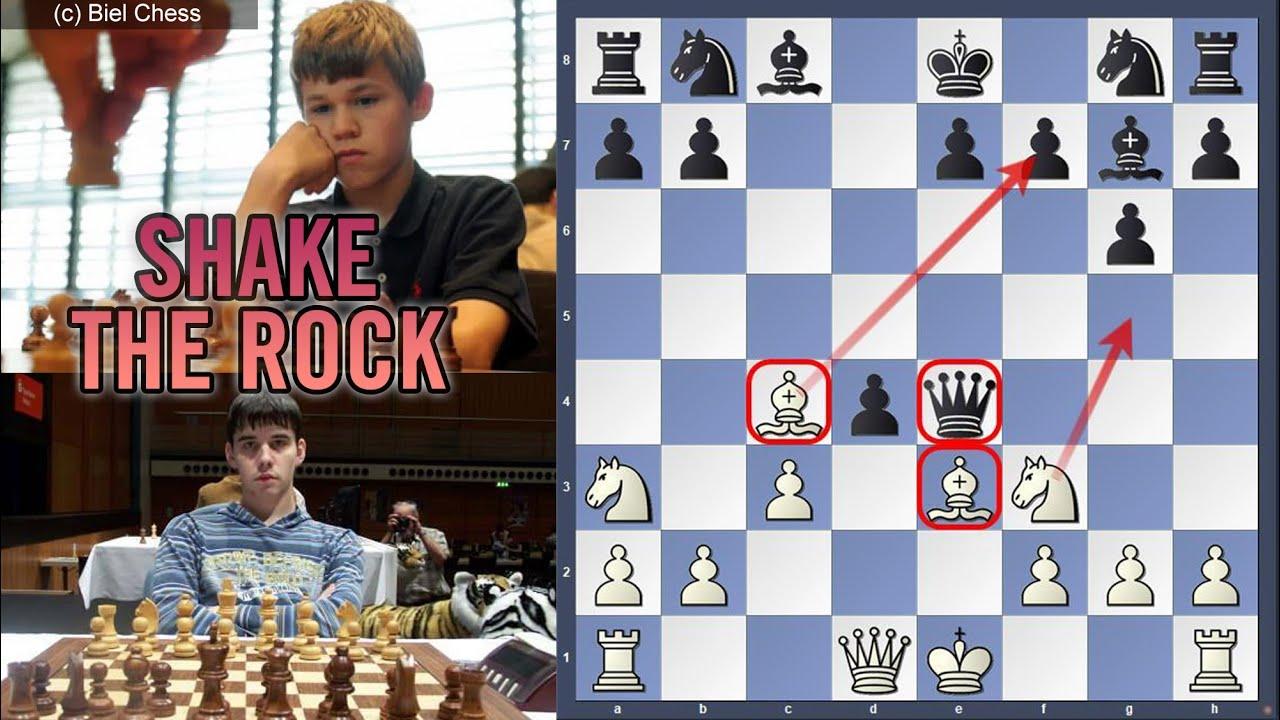 Download Shake the rock | Ian Nepomniachtchi vs Magnus Carlsen | U14 World Championship 2003