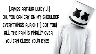 Marshmello x Juicy J - You Can Cry Ft. James Arthur (Lyrics)