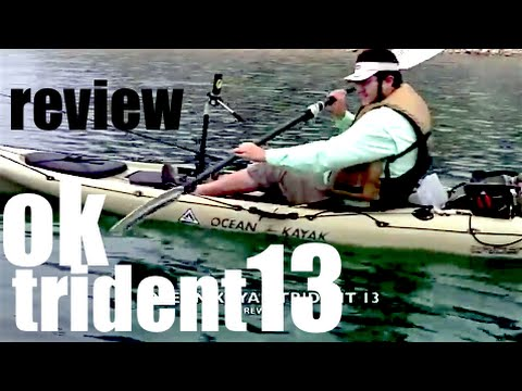 REVIEW - OCEAN KAYAK TRIDENT 13 ANGLER - kayak fishing