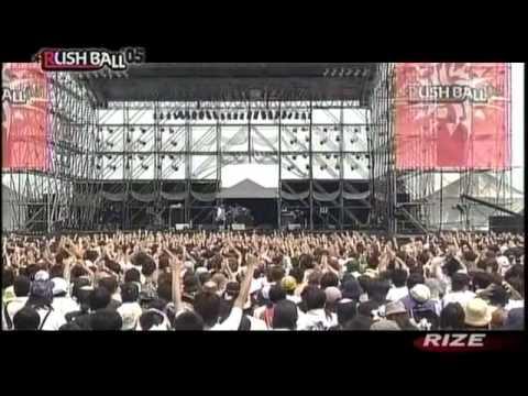 RIZE - NAME (LIVE RUSHBALL 2005)