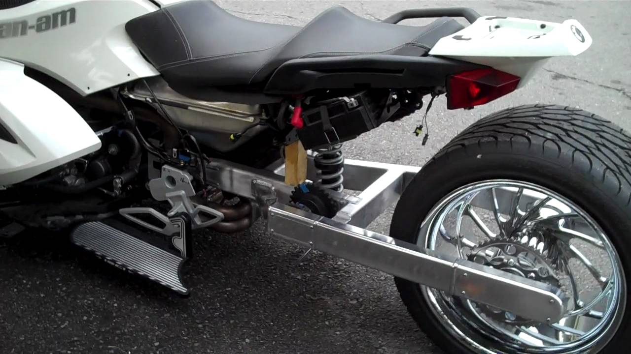 CAN AM SPYDER FAT TIRE MONSTER 360 OVER 20 INCH STRETCH 1 ...