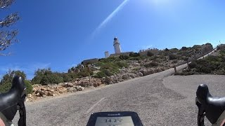 Mallorca: Racing Cap Formentor In 7 Minutes (4K-must-see-Video)(Mallorca With roadbike from Pt.Pollenca to Cap Formentor and back. Mit dem Rennrad von Pt.Pollenca zum Cap Formentor und zurück., 2015-10-27T16:38:51.000Z)