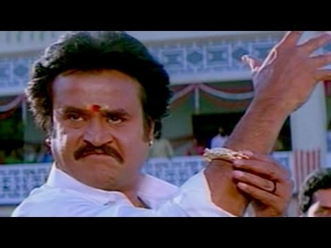 Rajnikanth Extraordinary Action Scene  - Arunachalam Movie