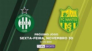 AO VIVO - AS ST. ETIENNE VS FC NANTES