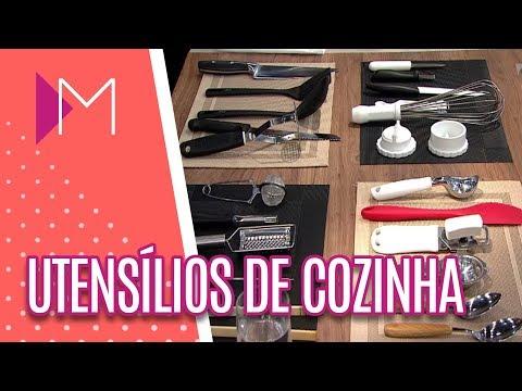 Como utilizar utensílios de cozinha - Mulheres (25/05/18)