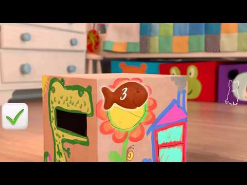 Baby Learn Colours With My Little Kitten Pet Care | Children Colors Cat Educational Cartoon Game