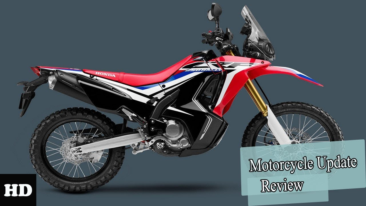 Hot News 2019 Honda Crf250l Red White Exclusive Features Edition