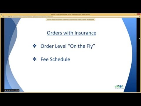 My Vision Express®: How To Process Orders With Insurance
