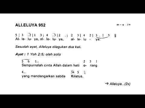 Minggu Biasa VII - Alleluya 952