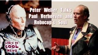 Peter Weller Talks Paul Verhoeven and Robocop