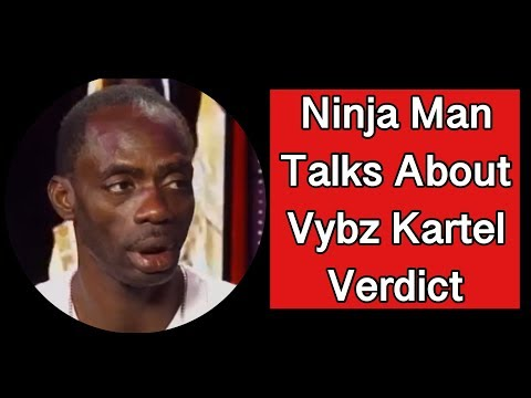 NINJA MAN TALKS ABOUT VYBZ KARTEL'S VERDICT - Classic Interview From March 2014