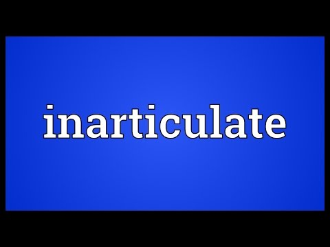 Inarticulate Meaning