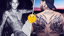 What do all of Neymar's tattoos mean? - Oh My Goal