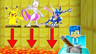 ¿A QUÉ POKEMON SALVARÍAS? 😱😁 | MINECRAFT TROLL POKEMON EN MINECRAFT