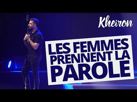 Les femmes prennent la parole - 60 minutes avec Kheiron