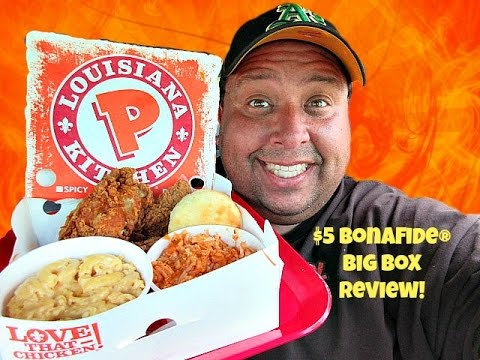 Popeye's® Louisiana Kitchen $5 Bonafide Big Box REVIEW!