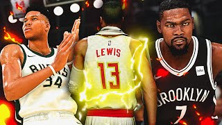 PLAYING KEVIN DURANT & GIANNIS.. THE SMALL FORWARD GAUNTLET! 2K20 MyCareer Ep.9