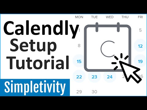 How to use Calendly - Tutorial for Beginners (2020)