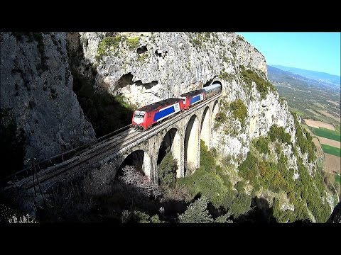 Rails Through Heaven - Part [1]: Lianokladi - Tithorea [ driver's eye view ]