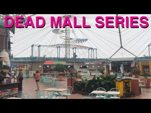 DEAD MALL SERIES : Buzzing Lights Big Problems : Crystal River Mall in FL & Warren Mall in PA