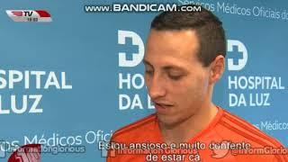 Cristián Lema é reforço do SL Benfica.