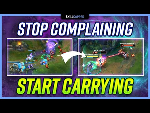 STOP Complaining and START Carrying LOW ELO ADCs! – Support Guide