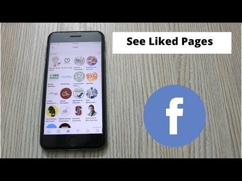 How To Find Liked Pages On Facebook (2020)