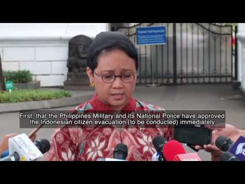 Foreign Minister on Repatriating Indonesian Citizens