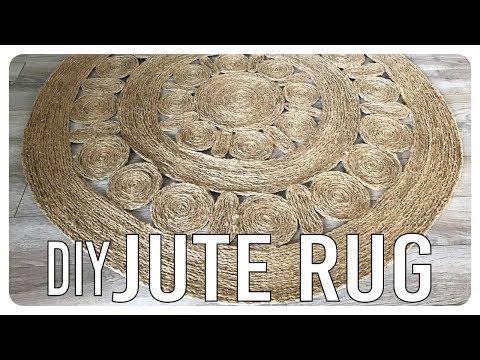 Jute Rug DIY