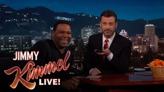Jimmy Kimmel & Anthony Anderson Call Donald Trump & Oprah