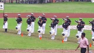banda de guerra honor y lealtad calderon 2016