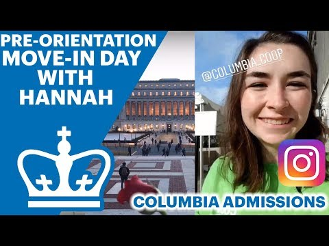 Hannah shows Pre-Orientation | Columbia Admissions