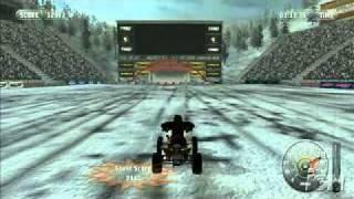 MX vs ATV Wii Ski Jump