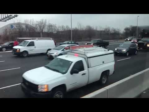 Mark - What happened when a Brinks truck spilled money on the interstate