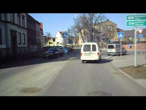 Flensburg - Berlin driving on Road / Highway and next day 2/2