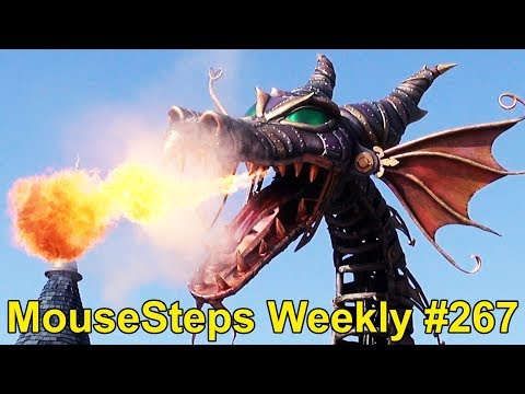 MouseSteps Weekly #267: Belle's Dress Cupcake; Cove Bar; Maleficent Dragon News; DisneyStyle Shop
