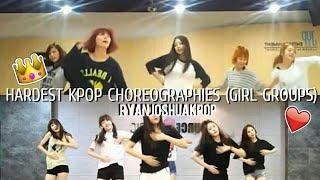 Hardest Kpop Choreographies/Dances(KPOP Girl Groups) Part 1