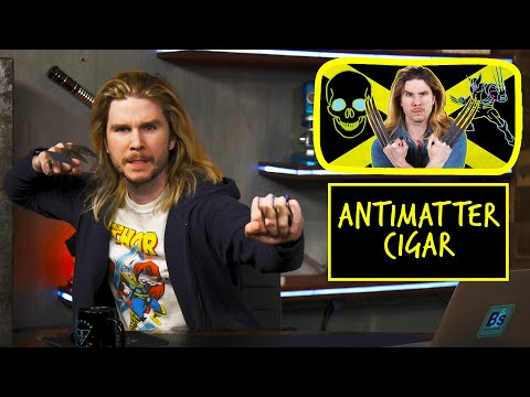 Wolverine's Antimatter Cigar | Because Science Footnotes