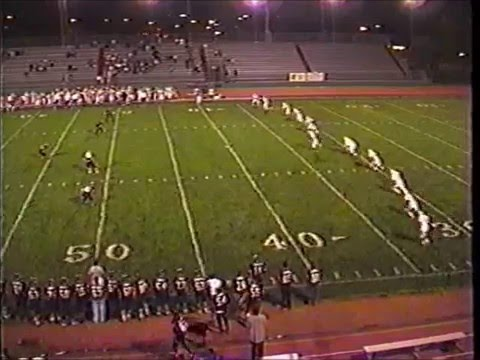 Wheat Ridge Football 1997 vs. Mitchell
