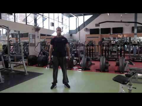 Dumbbell overhead press - Bloomsbury Fitness Exercise Videos