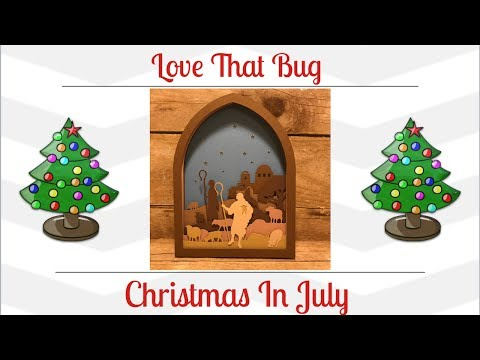 Cricut Explore | Christmas Nativity Scene Video 1