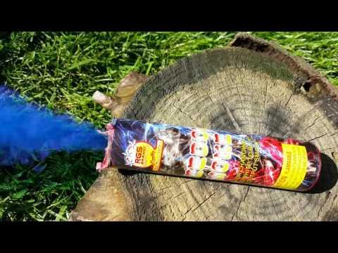 """60 Sec """" Freedom """" Triple  Color Smoke Bomb Demo"""