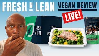 NEWBIE VEGAN   'Fresh N Lean' Readytoeat Meal Delivery  (1st TASTE TEST)