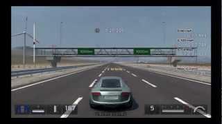 Gran Turismo 5 Max G-Force Test Audi Le Mans Quattro '03