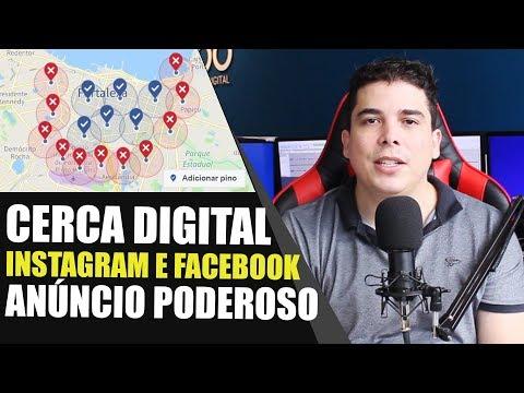 ANÚNCIO INSTAGRAM E FACEBOOK ADS CERCA DIGITAL SEGMENTAÇÃO DE PUBLICO ALVO MARKETING DIGITAL